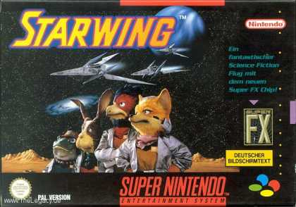 Misc. Games - Starwing
