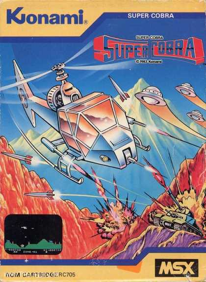 Misc. Games - Super Cobra