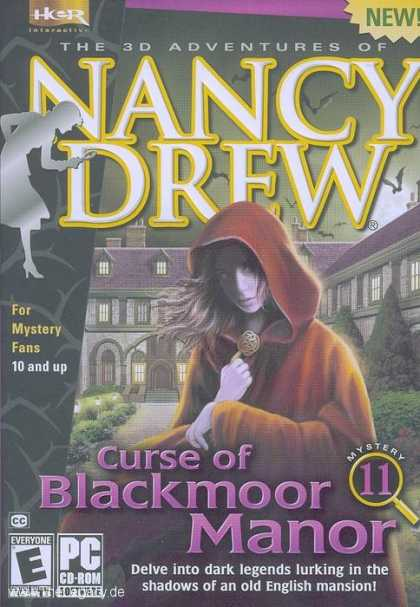 Misc. Games - Nancy Drew 11: Curse of Blackmoor Manor