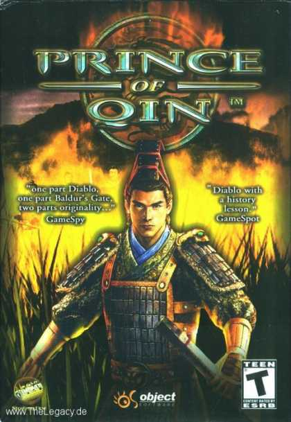 Misc. Games - Prince of Qin