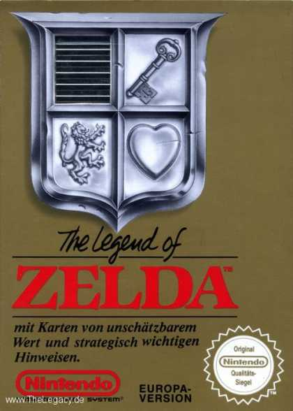 Misc. Games - Legend of Zelda, The