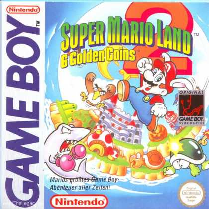 Misc. Games - Super Mario Land 2: 6 Golden Coins