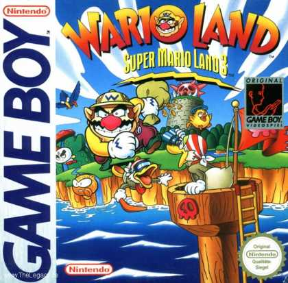 Misc. Games - Super Mario Land 3: Wario Land