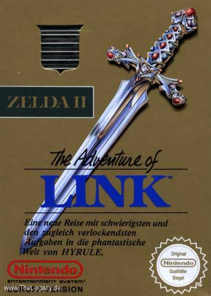 Misc. Games - Zelda II: The Adventure of Link