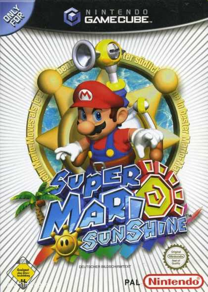 Misc. Games - Super Mario Sunshine