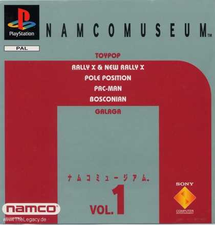 Misc. Games - Namco Museum Vol. 1