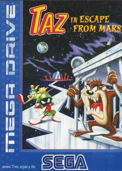 Misc. Games - Taz In Escape From Mars