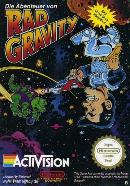Misc. Games - Adventures of Rad Gravity