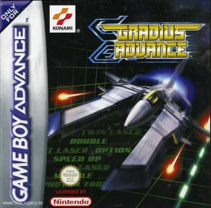 Misc. Games - Gradius Advance