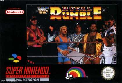 Misc. Games - WWF Royal Rumble