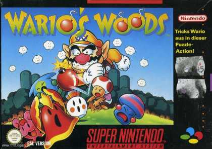 Misc. Games - Wario's Woods