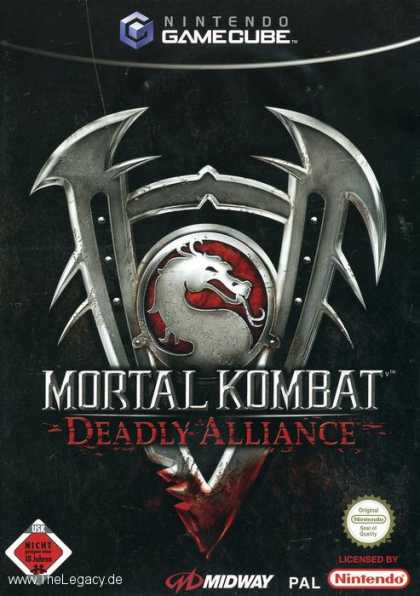 Misc. Games - Mortal Kombat: Deadly Alliance