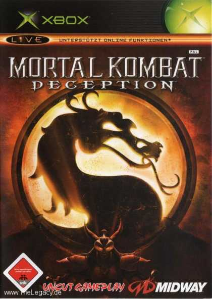 Misc. Games - Mortal Kombat: Deception