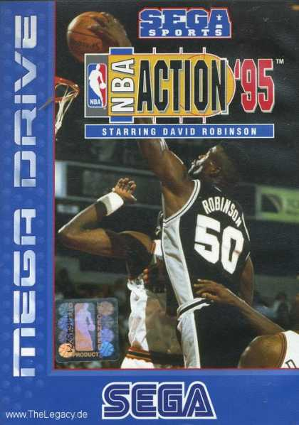 Misc. Games - NBA Action '95 starring David Robinson