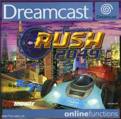 Misc. Games - San Francisco Rush 2049