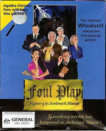 Misc. Games - Foul Play: Mystery at Awkward Manor