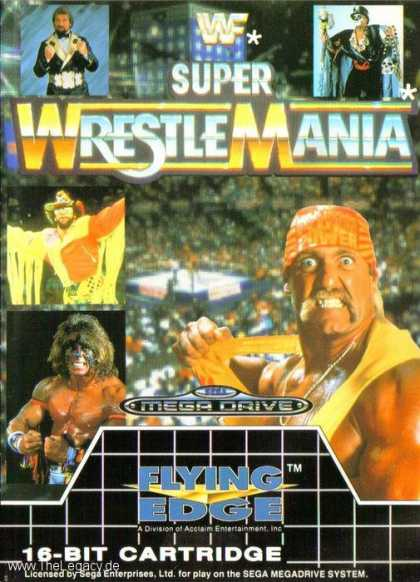 Misc. Games - WWF Super WrestleMania