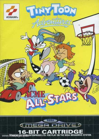 Misc. Games - Tiny Toon Adventures: ACME All-Stars
