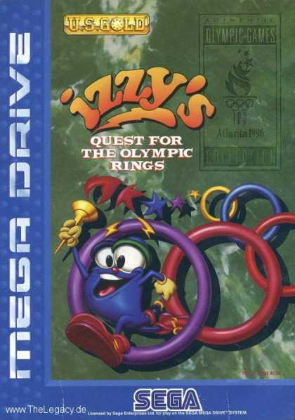 Misc. Games - Izzy's Quest For The Olympic Rings