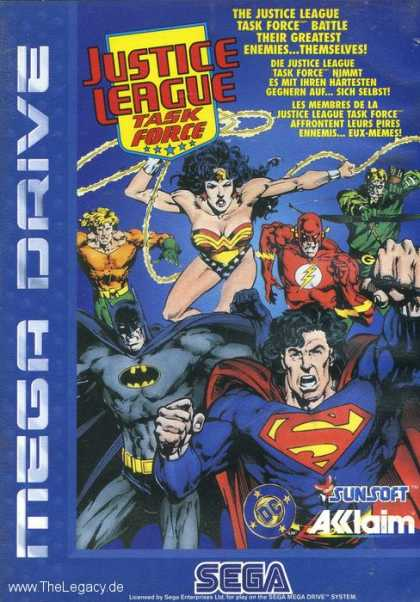 Misc. Games - Justice League Task Force