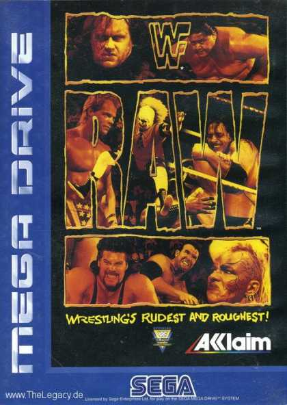 Misc. Games - WWF Raw