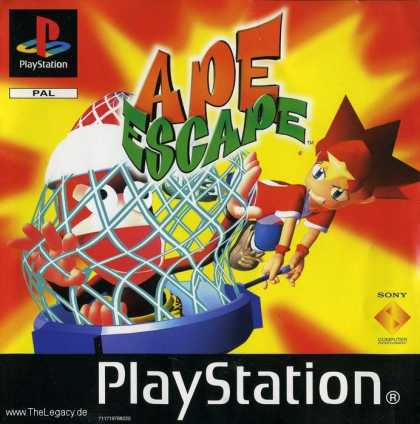 Misc. Games - Ape Escape