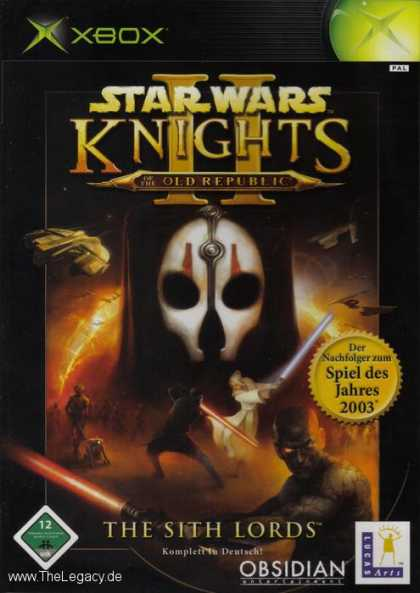 Misc. Games - Star Wars - Knights of the Old Republic II: The Sith Lords
