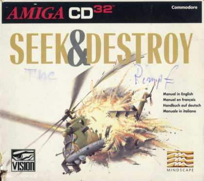 Misc. Games - Seek & Destroy