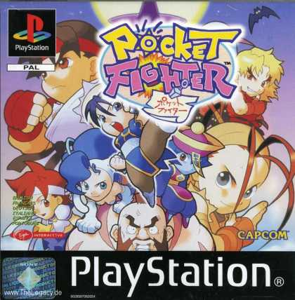 Misc. Games - Pocket Fighter