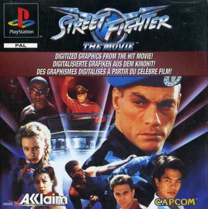 Misc. Games - Street Fighter: The Movie
