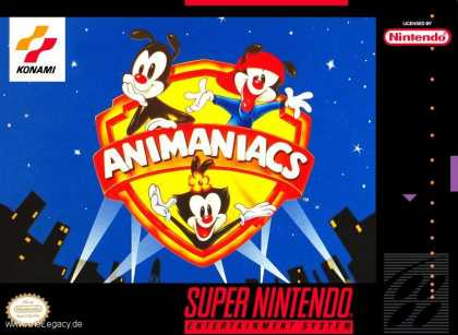 Misc. Games - Animaniacs