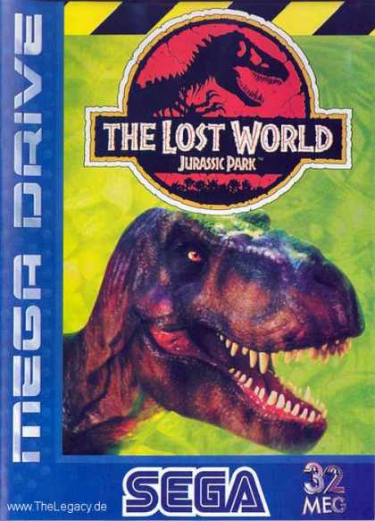 Misc. Games - Jurassic Park: The Lost World