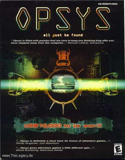 Misc. Games - Opsys: All must be found