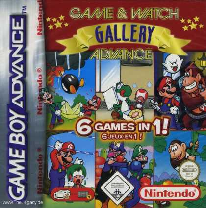 Misc. Games - Game & Watch Gallery 4