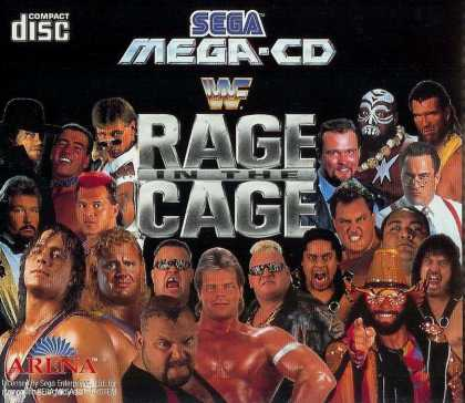 Misc. Games - WWF Rage in the Cage