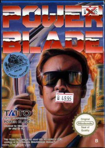 Misc. Games - Power Blade