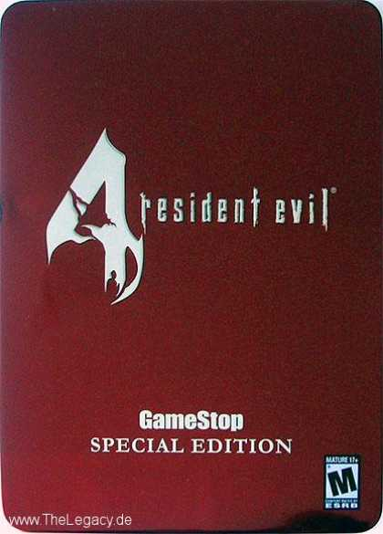 Misc. Games - Resident Evil 4 - GameStop Special Edition