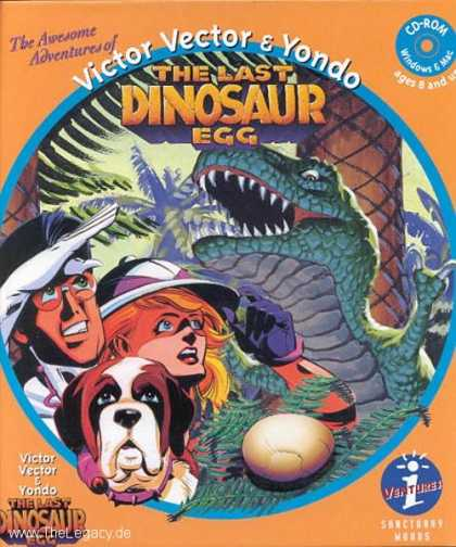 Misc. Games - Victor Vector & Yondo: The last Dinosaur Egg