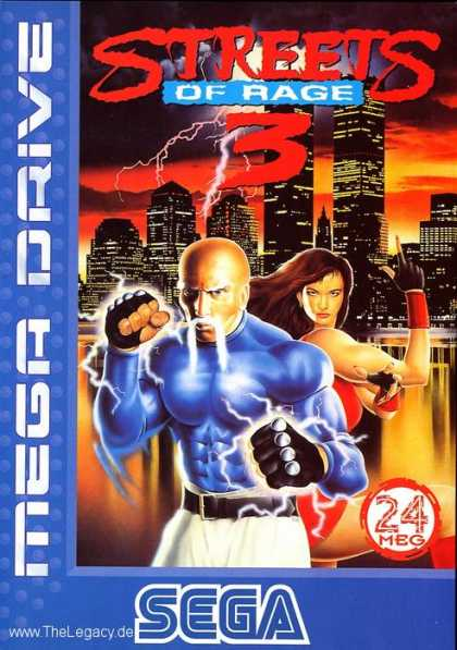 Misc. Games - Streets of Rage 3