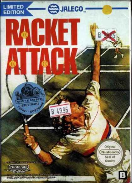 Misc. Games - Racket Attack