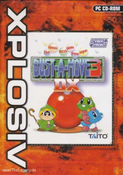 Misc. Games - Bust-A-Move 3 DX