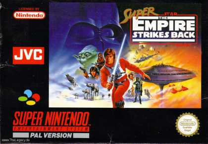 Misc. Games - Super Star Wars - The Empire Strikes Back