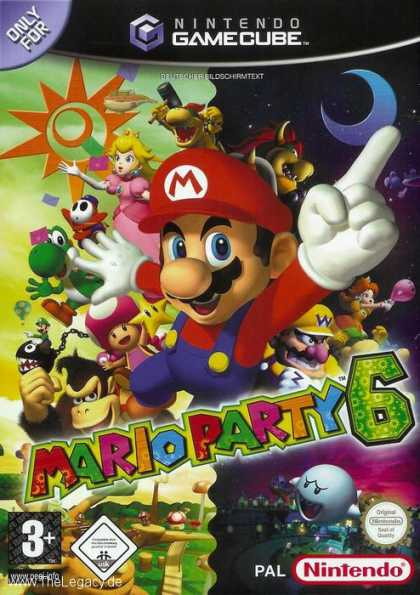 Misc. Games - Mario Party 6