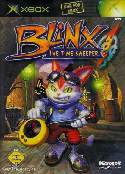 Misc. Games - Blinx: The Time Sweeper