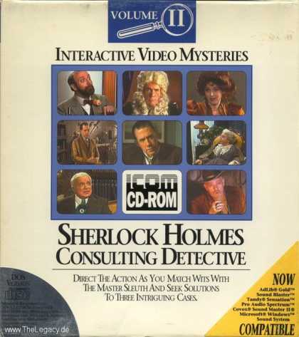 Misc. Games - Sherlock Holmes: Consulting Detective Volume II