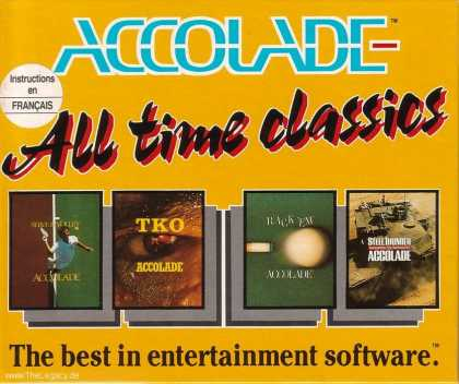 Misc. Games - Accolade - All time classics