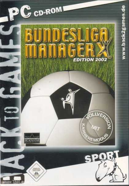 Misc. Games - Bundesliga Manager X - Edition 2002
