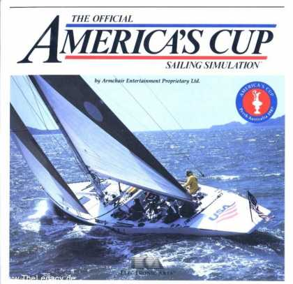 Misc. Games - Official America's Cup Sailing Simulation, The
