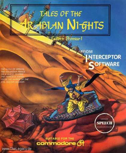 Misc. Games - Tales of the Arabian Nights