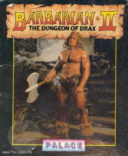 Misc. Games - Barbarian II: The Dungeon of Drax